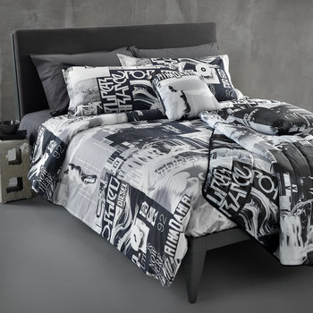 Nippon Duvet Set - Black/White