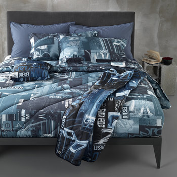 Nippon Duvet Set - Blue