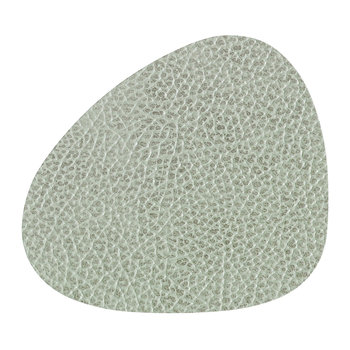 Hippo Curve Drinks Coaster - Olive Green
