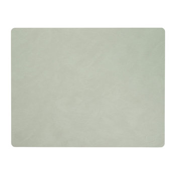 Square Table Mat - Olive Green