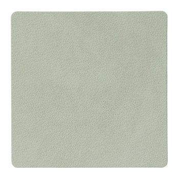 Square Drinks Coaster - Olive Green