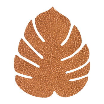 Monstera Leaf Drinks Coaster - Nature