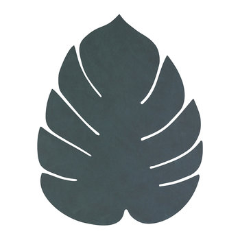 Monstera Leaf Table Mat - Large - Dark Green