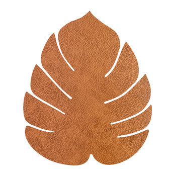 Monstera Leaf Table Mat - Large - Nature