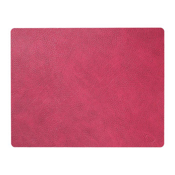 Hippo Square Table Mat - Large - Raspberry