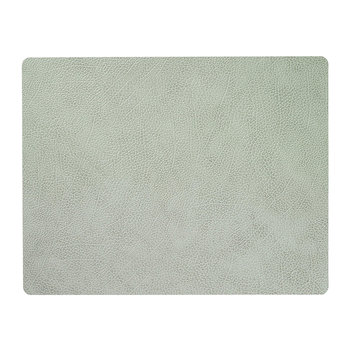 Hippo Square Table Mat - Large - Olive Green