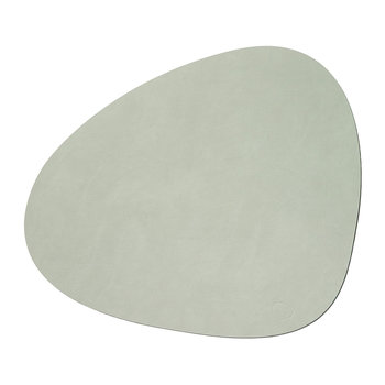 Curve Table Mat - Olive Green - Large