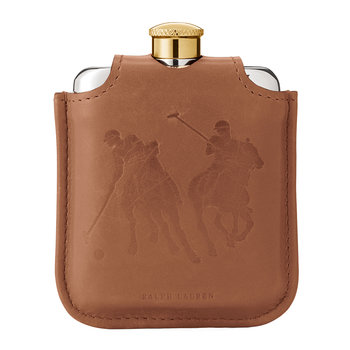 Garrett Leather & Canvas Flask