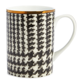 Wessex Houndstooth Mugs - Set of 4