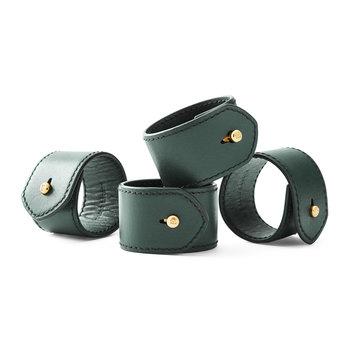 Wyatt Napkin Ring - Set of 4 - Green