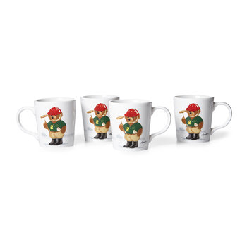 Haven Polo Bear Mug - Set of 4