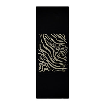Zebrage Table Runner - Black