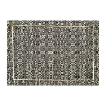 Jacquard Placemat - Set of 2 - Platinum