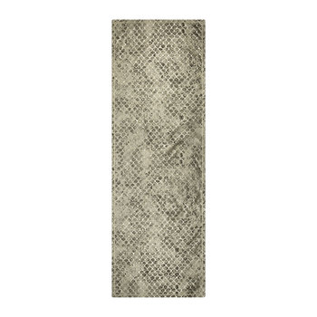 Flakes Jacquard Table Runner - Platinum