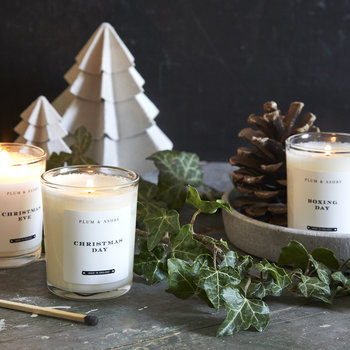 Christmas Votive Set