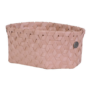 Dimensional Open Oval Basket - Small - Copper Blush
