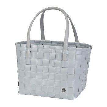 Color Match Shopper Bag - Steel Gray