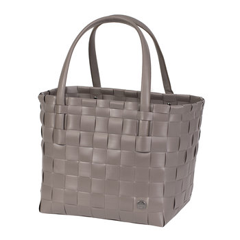 Colour Match Shopper Bag - Stone Brown