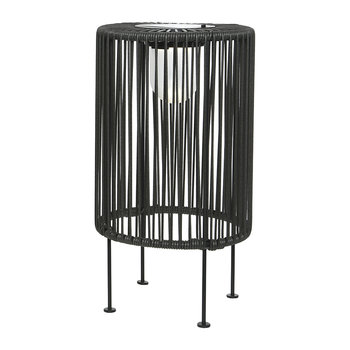 Outdoor Solar LED Wire Table Lamp - Grey