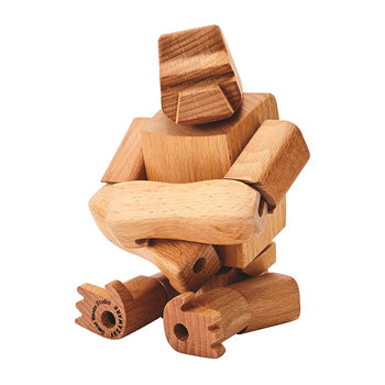 Hanno the Gorilla Wooden Toy