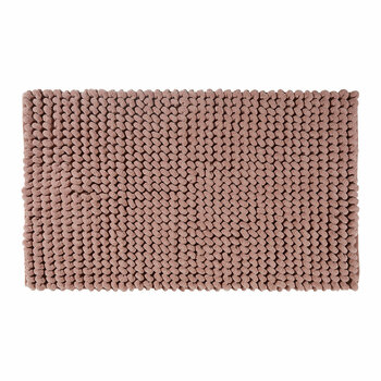 Luka Bath Mat - Brique