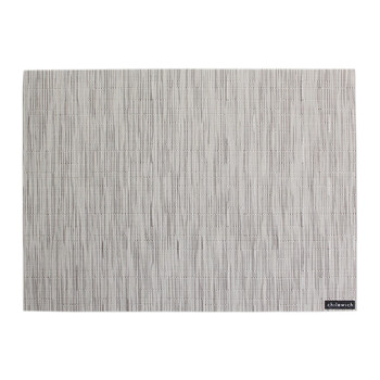 Bamboo Rectangle Placemat - Chalk