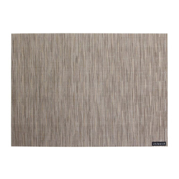 Bamboo Rectangle Placemat - Dune