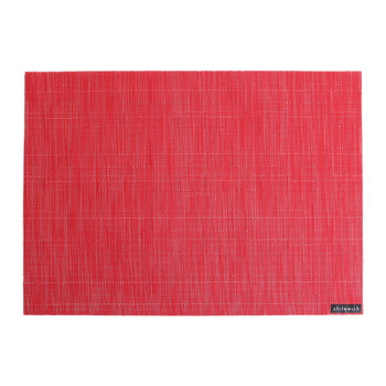 Bamboo Rectangle Placemat - Poppy
