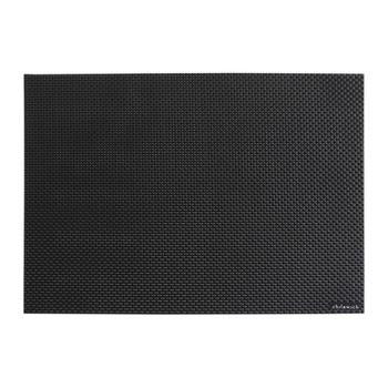 Basketweave Rectangle Placemat - Black