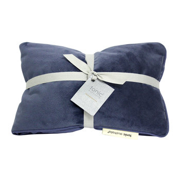 Luxe Velvet Heat Pillow - Storm