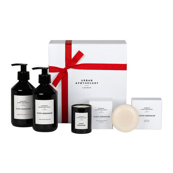 Luxury Bath and Body Gift Set - Oudh Geranium