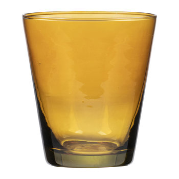 Kusintha Water Glass - Amber