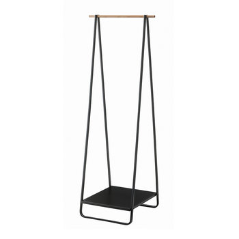 Tower Coat Rack - Black