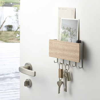Rin Magnetic Key Hook With Tray