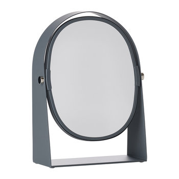Table Magnify Mirror - Grey
