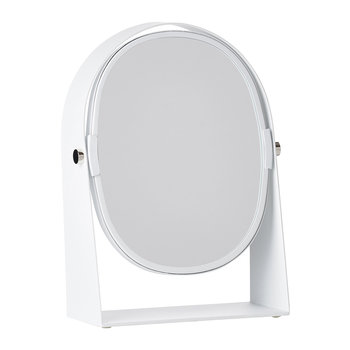 Table Magnify Mirror - White