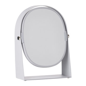 Table Magnify Mirror - Soft Gray