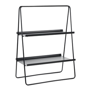 A-Table Shelving Unit - Black