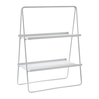 A-Table Shelving Unit - Soft Grey