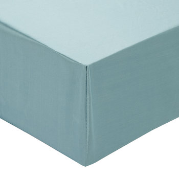 100% Silk Fitted Sheet - Teal