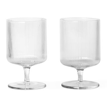 Ripple Wine Glass - Set of 2 - Clear