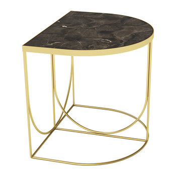 Table d'Appoint Sino - Marron