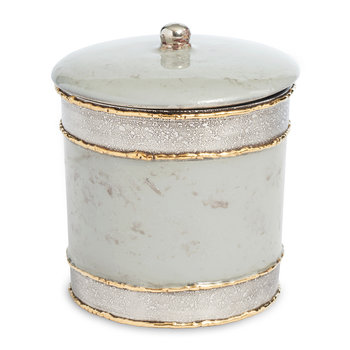 Cascade Covered Canister - Mist