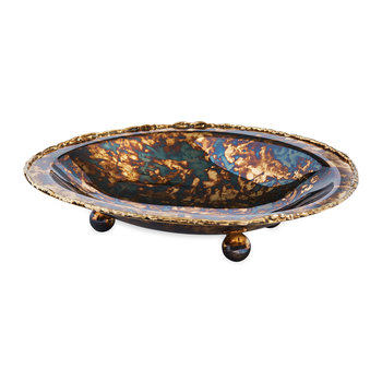 Cascade Soap Dish - Rainbow Bronze