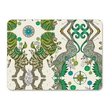 Caspian Placemat - Green