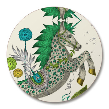 Caspian Coasters - Set of 4 - Green