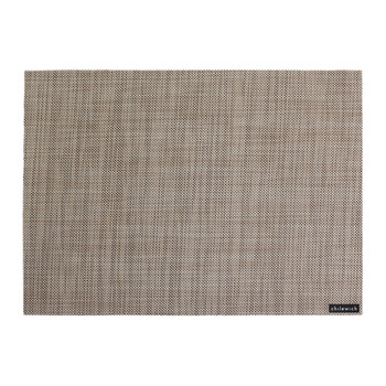 Mini Basketweave Rectangle Placemat - Linen