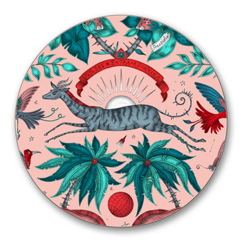 Zambia Coaster - Set of 4 - Pink