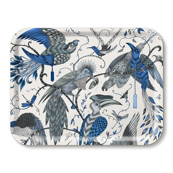 Audubon Rectangular Tray - Blue