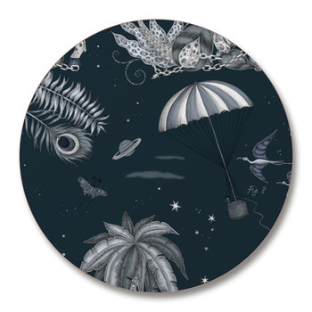 Lost World Coasters - Set of 4 - Navy